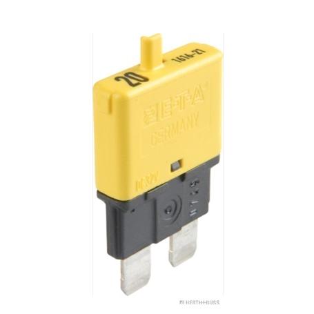 Disjoncteur jaune 20A 28V