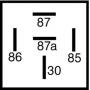 Relais inverseur 12V 30/40A