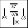 Relais inverseur 24V 10/20A