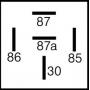 Relais inverseur 24V 50A