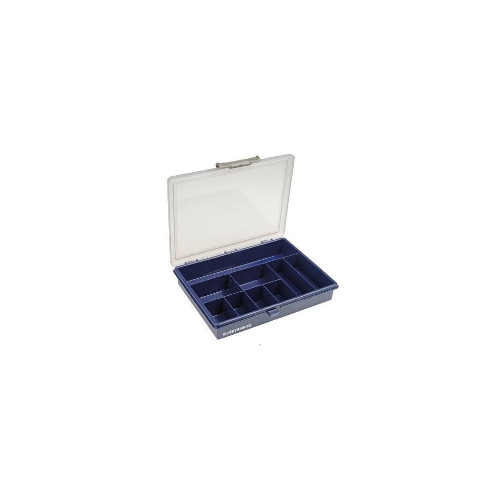 bo te de rangement vide en plastique noir eit. Black Bedroom Furniture Sets. Home Design Ideas