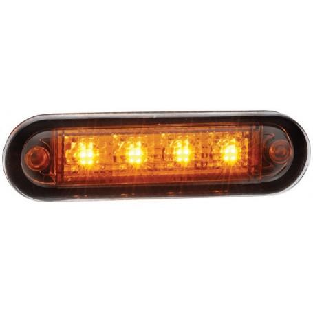 Feu gabarit orange LED 12/24V