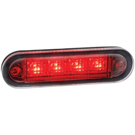 Feu gabarit rouge LED 12/24V