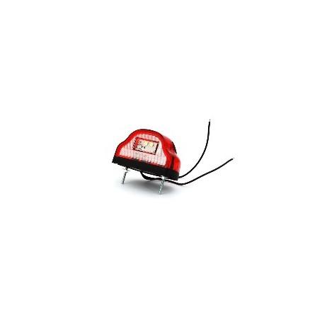 Éclaireur de plaque LED rouge