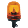 Gyrophare orange fixation sur hampe
