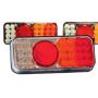Feu arrière droit LED (position stop, clignotant, feu de recul)