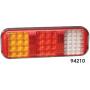 Feu arrière LED (position stop, clignotant, feu de recul)