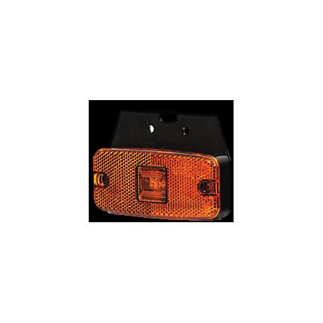 Feu d'encombrement orange LED sur semelle