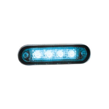 Feu de gabarit Bleu LED 12/24 V