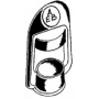 Bouchon de protection caoutchouc pour hampe 561 et 562
