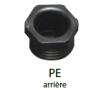 Feu AR GAUCHE LC4 avec catadioptre + éclaireur de plaque