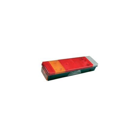 Feu GAUCHE LC7 + catadioptre + feu de position latéral + éclaireur de plaque