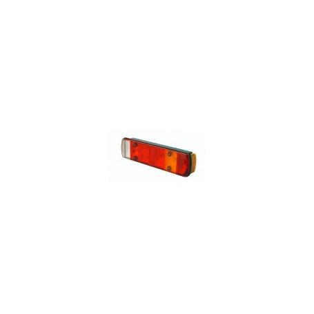 Feu latéral GAUCHE SCANIA/VOLVO (clig/stop/pos/recul/brouil/éclairage plaque)