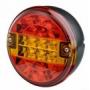 Feu rond LED 12/24V