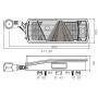 Feu 7 fonctions Ecopoint II DROIT (feu sur antenne) 7P + 2x2P ASS2