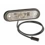 Feu de position AV POSIPOINT LED 12/24V câble 0.5m