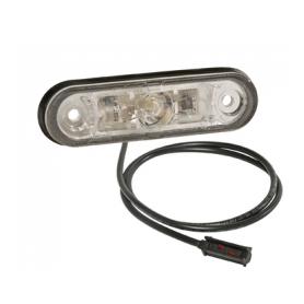Feu de position AV POSIPOINT II LED 12/24V câble 0.5m