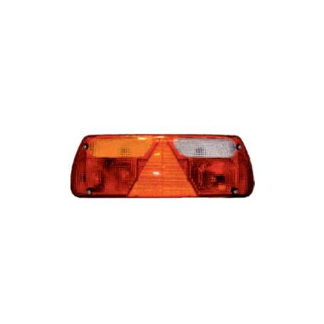 Feu arrière 5 fonctions avec triangle et presse-étoupe GAUCHE 12/24V