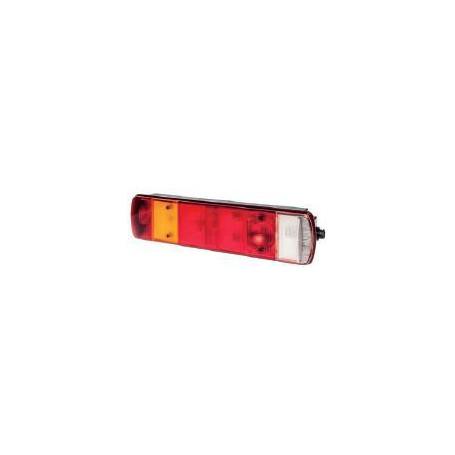 Feu AR GAUCHE 41-102 SCANIA 7P AMP câble 0,2m nu + Éclairage de plaque