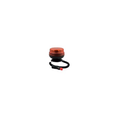 Gyrophare LED plat à base magnétique étroite