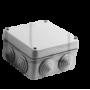 Boîte de dérivation étanche (IP55) avec entrées de câble
