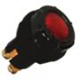Voyants de contrôle 6, 12 et 24 Volts pour panneau épaisseur maxi 7 mm rouge