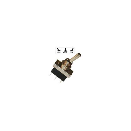 Interrupteurs à tige métal 20 mm - Connexions à fiches 6,35 mm - Série haute performance