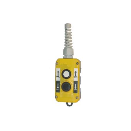 Boîte 2 boutons à impulsion - Montée/descente - IP65