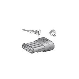 Kit connecteur 4 voies mâle