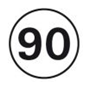 Disques limitation de vitesse PL 90