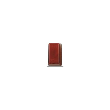 Cabochon rouge de rechange pour feux ML