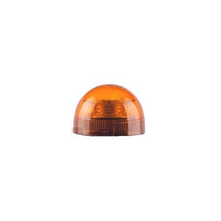 Cabochon de rechange orange pour gyrophares