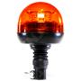 Gyrophare effet rotatif à LED sur tige flexible longue