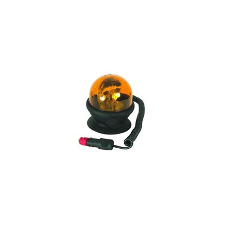 Gyrophare rotatif magnétique