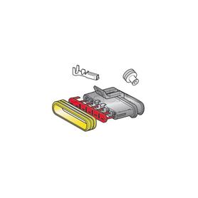 Kit connecteur 6 voies femelle