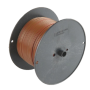 FIL 2mm2 NOIR (bobine 25m)