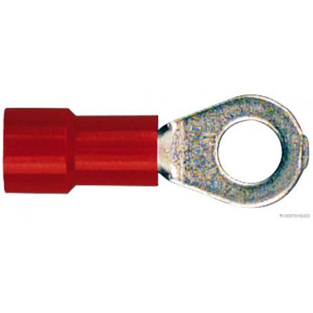 Cosses à oeil ROUGE (x100) coupe de 0,5 mm² à 1.0 mm2 Alésage-Ø 4,3 m