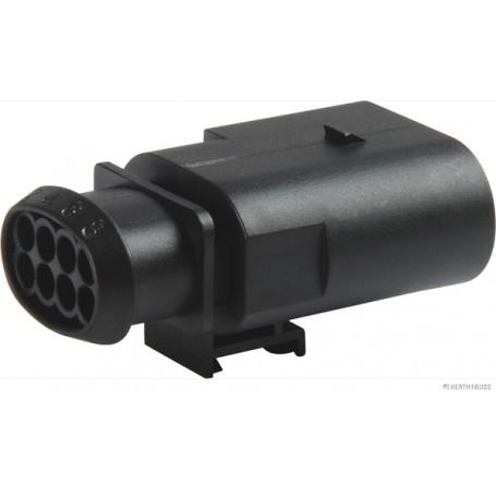 Boîtier connecteur 8 pôles (x10) Larg.d'emboîtement 1.5mm