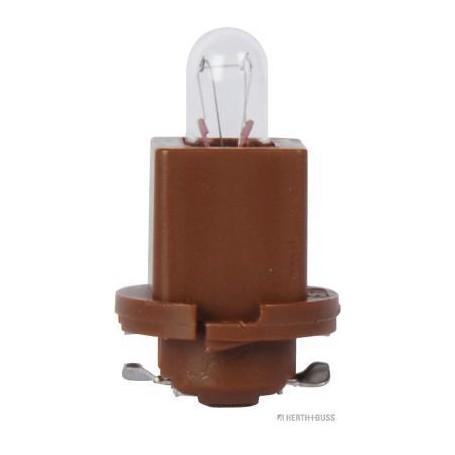 Ampoule culot plastique MARRON (x10) 24 V 1,2 W EBSR6