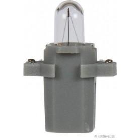 Ampoule culot plastique GRIS (x10) 24 V 1,2 W B8,3d