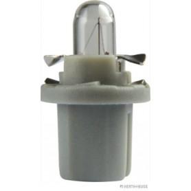 Ampoule culot plastique GRIS (x10) 24 V 1,2 W B8,5d
