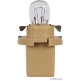 Ampoule culot plastique BEIGE (x10) 24 V 1,2 W BAX10d