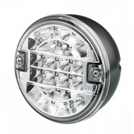 Feu de recul D/G LED M810 12/24V Diam.140 2 trous