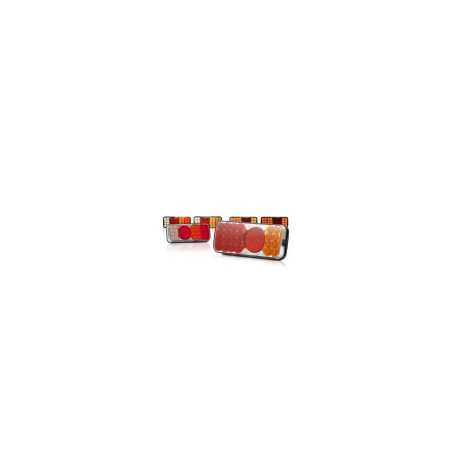Feu arrière GAUCHE LED (clign/feu de brouillard) 1700-1