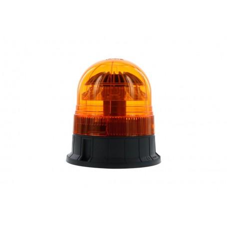 Gyrophare LED VEGA à visser rotatif ORANGE