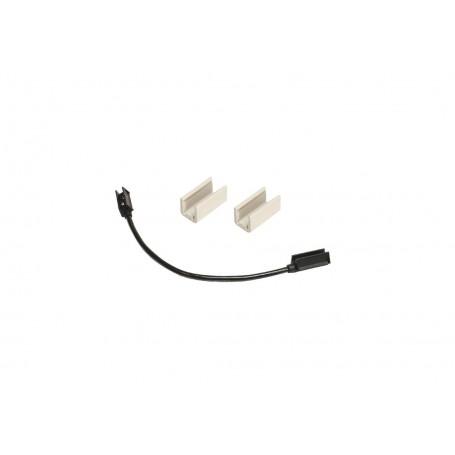 Voltage : 12 - 24V Source : Ampoules Lampe : W5W Couleur : Cristal + Rouge Connecteur : Cables fils nus Longueur Câble : 350 mm