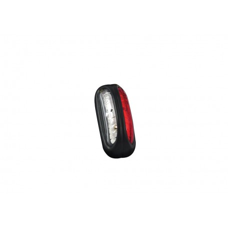 FE12 LED - Feu de gabarit et d'encombrement LED 12/24V cristal + rouge