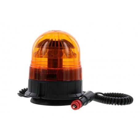 VEGA - Gyrophare led VEGA magnetique 1 ventouse lumière rotative ambre