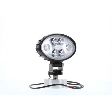 Phare de travail LED CARBONLUX ovale 150X93mm - cable