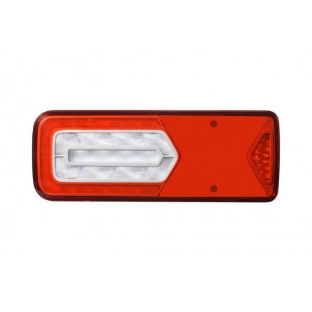 LC12 LED - Feu arrière LED Droit 24V, connecteurs additionnels